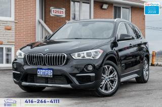 Used 2016 BMW X1 xDrive28i PanoRoof Rear-Cam No Accidents Certified for sale in Bolton, ON