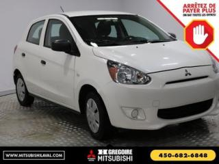 Used 2015 Mitsubishi Mirage ES A/C for sale in Laval, QC