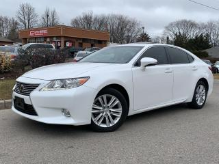 Used 2014 Lexus ES 350 LEATHER-HEATED/COOLED SEATS-BACKUP CAM for sale in Mississauga, ON