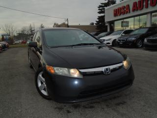 Used 2008 Honda Civic LX AUX,PL,PW,PL SAFETY & E TEST for sale in Oakville, ON