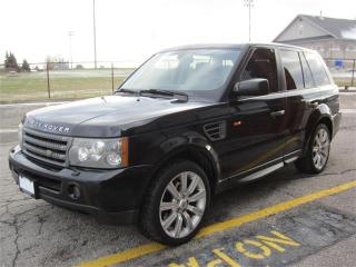 Used 2006 Land Rover Range Rover Sport HSE/ $9495+HST+LIC FEES / FULLY LOADED/ CERTIFIED for sale in North York, ON