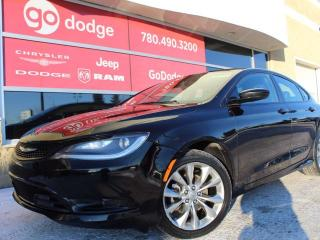 Used 2015 Chrysler 200 S- 9 SPEED TRANSMISSION for sale in Edmonton, AB