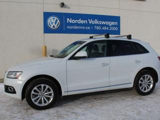 Used 2015 Audi Q5 2.0T QUATTRO AWD - LEATHER / PANO ROOF / 2 SETS OF TIRES for sale in Edmonton, AB