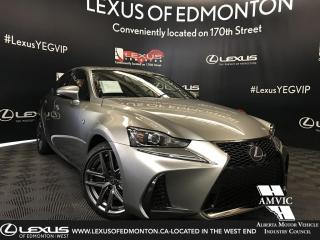 New 2019 Lexus IS 300 F Sport Series 1 for sale in Edmonton, AB