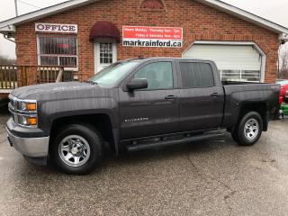 Used 2014 Chevrolet Silverado 1500 W/T 5.3 V8 4x4 Crew Towing Package for sale in Bowmanville, ON