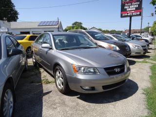 Used 2007 Hyundai Sonata for sale in Sarnia, ON