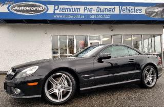 Used 2010 Mercedes-Benz SL 550 *Convertible, Low Kms, AMG Package* for sale in Langley, BC