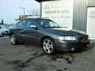 Used 2006 Volvo S60 ***CUIR,MAGS,TURBO*** for sale in Longueuil, QC