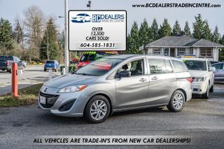 Used 2012 Mazda MAZDA5 GS 6-Passenger Van, 4-Cylinder, Low 128k, Local! for sale in Surrey, BC