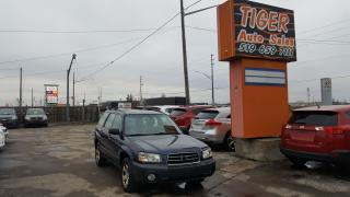 Used 2005 Subaru Forester X**AWD**4 CYL**ONLY 169KM**DRIVES GREAT**AS IS for sale in London, ON
