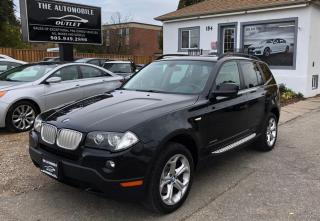 Used 2010 BMW X3 30i AWD PANO ROOF LEATHER for sale in Mississauga, ON