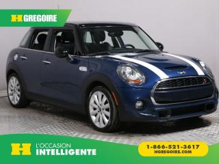 Used 2015 MINI Cooper S TURBO 5 DOORS A/C for sale in St-Léonard, QC