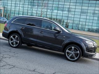 Used 2014 Audi Q7 TDI|TECHNIK|S LINE|SPORT|NAVI|REARCAM|PANOROOF for sale in Toronto, ON