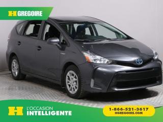 Used 2016 Toyota Prius V HYBRIDE A/C GR for sale in St-Léonard, QC