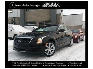 Used 2014 Cadillac ATS AUTO, SUNROOF, BOSE AUDIO, BALANCE OF GM WARRANTY for sale in Orleans, ON