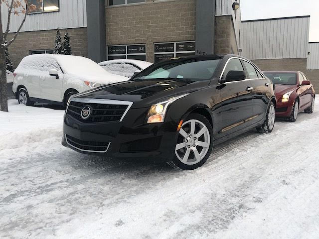 2014 Cadillac ATS AUTO, SUNROOF, BOSE AUDIO, BALANCE OF GM WARRANTY