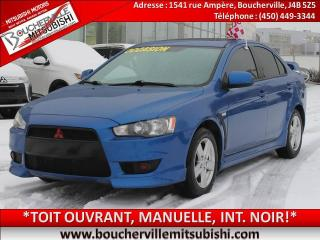 Used 2009 Mitsubishi Lancer SE T.OUVRANT for sale in Boucherville, QC