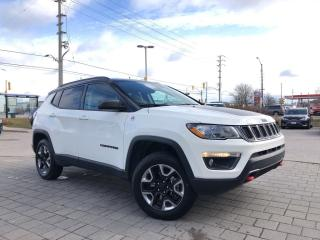 Used 2018 Jeep Compass Trailhawk 4X4**Navigation**Power Sunroof** for sale in Mississauga, ON