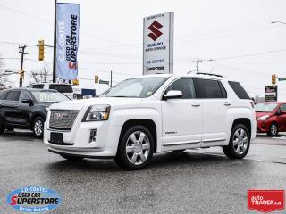 Used 2013 GMC Terrain Denali AWD ~Nav ~Backup Cam ~Heated Leather for sale in Barrie, ON