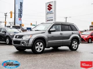 Used 2009 Suzuki Grand Vitara JLX 4x4 ~Heated Seats ~Power Moonroof for sale in Barrie, ON