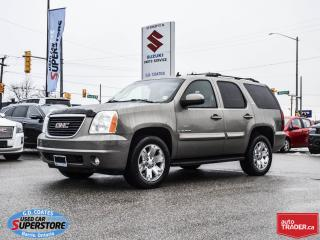 Used 2007 GMC Yukon SLT 4x4 ~7 Passenger ~Heated Leather for sale in Barrie, ON