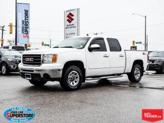 Used 2009 GMC Sierra 1500 Z71 Crew Cab 4x4 ~Trailer Tow ~Chrome Step Bars for sale in Barrie, ON