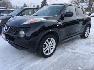 Used 2012 Nissan Juke AWD 5dr Wgn CVT TURBO all wheel drive with sunroof for sale in Brampton, ON