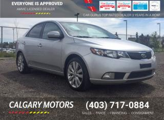 Used 2012 Kia Forte 4dr Sdn SX for sale in Calgary, AB