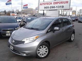 Used 2014 Nissan Versa Note SV Auto All Power/Bluetooth/Keyless &GPS*39/wkly for sale in Mississauga, ON