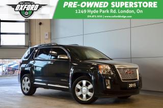 Used 2015 GMC Terrain Denali - One Owner, AWD,  fully loaded for sale in London, ON