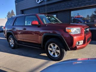 Used 2012 Toyota 4Runner SR5 Leather Sunroof Backup Easy Loan Approval for sale in Calgary, AB