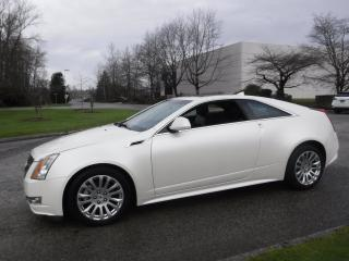 Used 2011 Cadillac CTS Premium AWD Coupe with Navigation for sale in Burnaby, BC