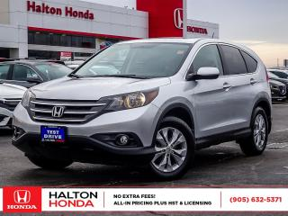 Used 2014 Honda CR-V EX|SERVICE HISTORY ON FILE|ACCIDENT FREE for sale in Burlington, ON