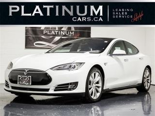 Used 2015 Tesla Model S 85D, AWD, AUTOPILOT, NAVI, Pano ROOF, CAM for sale in Toronto, ON