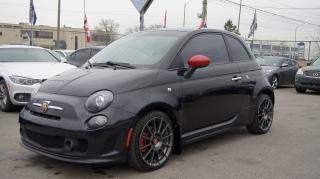 Used 2012 Fiat 500 Abarth TURBO * 5 SPEED MANUAL * RED LEATHER * SUNROOF for sale in Woodbridge, ON