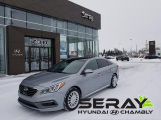 Used 2015 Hyundai Sonata Ultimate, Nav, Toit for sale in Chambly, QC