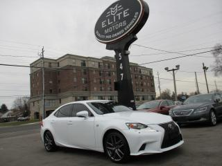 Used 2015 Lexus IS 250 IS 250 AWD F-SPORT PKG ~ RED INTERIOR ~ 56KMS !!! for sale in Burlington, ON