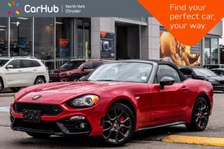Used 2017 Fiat 124 Spider Abarth|Manual|Keyless_Entry|Backup Cam|Blindspot|Cruise|17