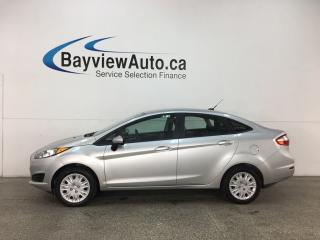 Used 2015 Ford Fiesta - BUDGE BUDDY! LOW KMS! A/C! SYNC! for sale in Belleville, ON