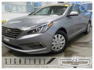 Used 2015 Hyundai Sonata GLS,AC 2 ZONES,PUSH BUTTOM,FOGS for sale in Rivière-Du-Loup, QC