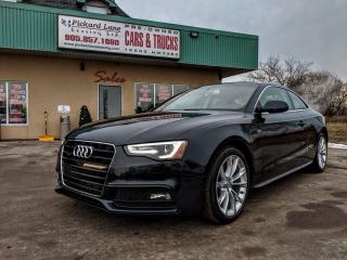Used 2015 Audi A5 2.0T Komfort DEALER OF THE YEAR 2015 AND 2016 for sale in Bolton, ON