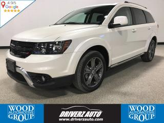 Used 2018 Dodge Journey Crossroad CLEAN CARFAX ,SUNROOF,  LEATHER, REAR ENTERTAINMENT for sale in Calgary, AB