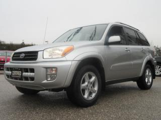 Used 2002 Toyota RAV4 LIMITED AWD / ONE OWNER / ACCIDENT FREE for sale in Newmarket, ON