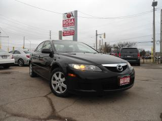 Used 2006 Mazda MAZDA6 AUTO LOW KM 4 CYLINDER GAS SAVER NO RUST PW A/C for sale in Oakville, ON