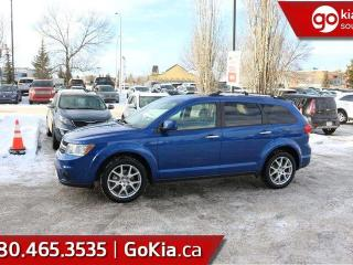 Used 2015 Dodge Journey RT; 7 PASSANGER, LEATHER, NAV, DVD PLAYER, BACKUP CAM, PUSH START AND MORE for sale in Edmonton, AB