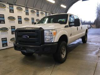 Used 2016 Ford F-350 Super Duty SRW XL- great work truck! with Bluetooth and vinyl seats for sale in Campbell River, BC