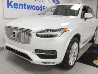 Used 2016 Volvo XC90 T6INSCRIPTION AWD, sunroof, heated power leather seats, rear climate control and rear heated seats for sale in Edmonton, AB