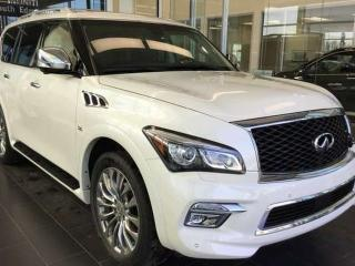 Used 2017 Infiniti QX80 Technology Package for sale in Edmonton, AB
