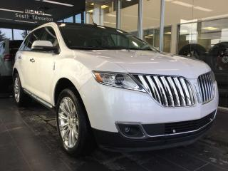 Used 2014 Lincoln MKX HEATED/COOLED SEATS, SUNROOF,REAR VIEW CAMERA for sale in Edmonton, AB