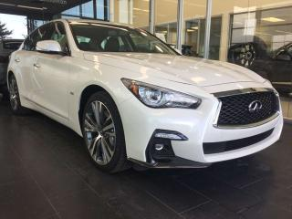 New 2019 Infiniti Q50 Signature Edition for sale in Edmonton, AB